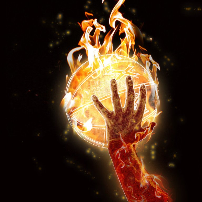 basketball_on_fire_by_felipes How to Increase Your Vertical Jump by 12 Inches in Few days