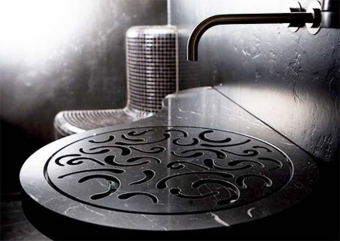 bathroom-sink-design 40 Catchy and Dazzling Bathroom Sinks