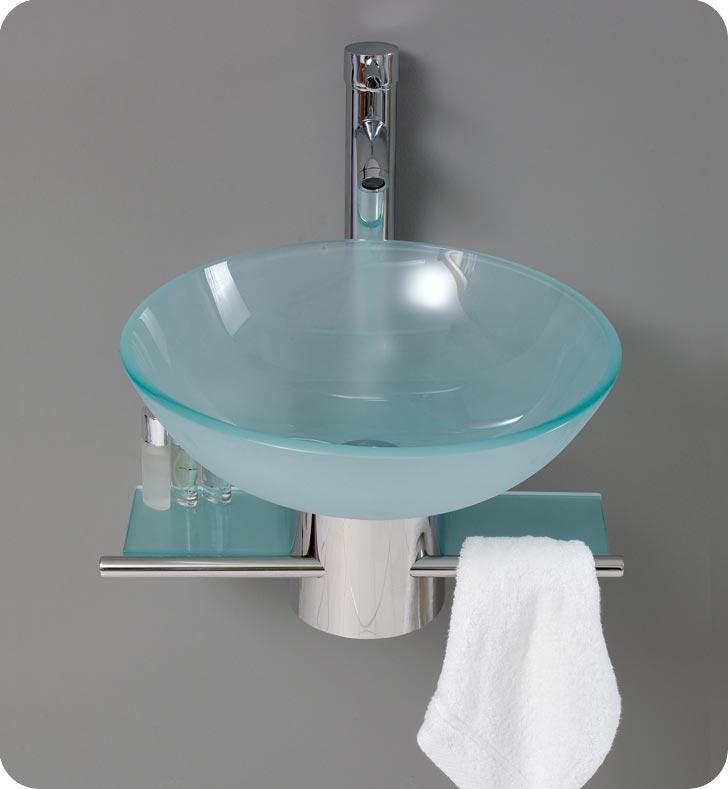 bathroom-vanities-FVN1012-CRISTALLINO-2 40 Catchy and Dazzling Bathroom Sinks