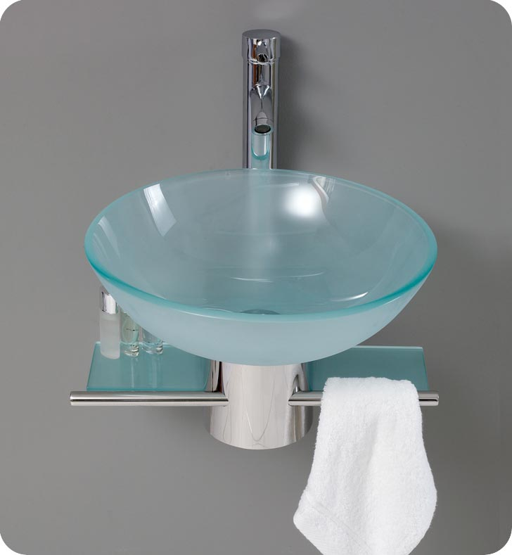 bathroom-vanities-FVN1012-CRISTALLINO-2 40 Catchy and Dazzling Bathroom Sinks