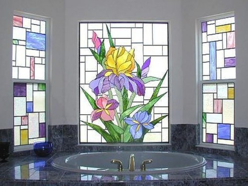 bathroom-window-glass-designs-500x375 Window Design Ideas For Your House