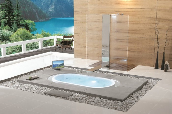 bathtubs-modern- 25 Creative and Unique Bathtubs for an Elegant Bathroom