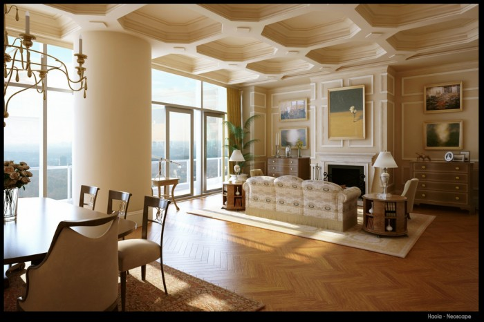 beautiful-classic-living-room-design 19 Creative Interior Designs For Your Home