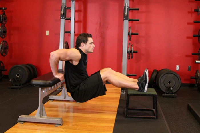 bench-dips 10 MMA Workouts to Achieve Fitness