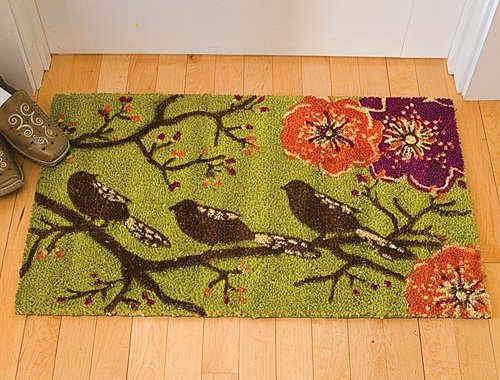 bird_door_mat1 5 Tips On Choosing The Suitable Front Door Mat Or Rug