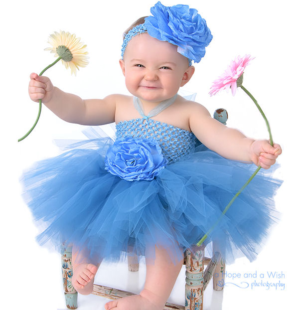 bloomingballerinabluetutudress 1st Birthday Dresses For Your Baby Girl