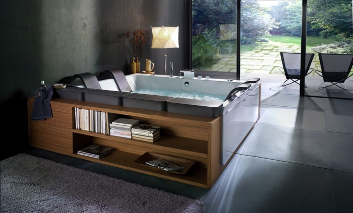 blubleu-reclining-tub 25 Creative and Unique Bathtubs for an Elegant Bathroom