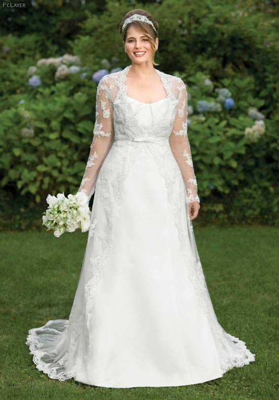 brides-needs-for-plus-size-follow-the-trends-of-2013-1-pclayer Tips To Choose The Perfect Plus Size Bridal Dress...