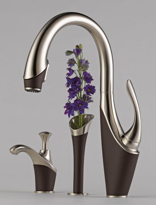 brizo-vuelo-kitchen-faucet 40 Breathtaking and Unique Bathroom Faucets