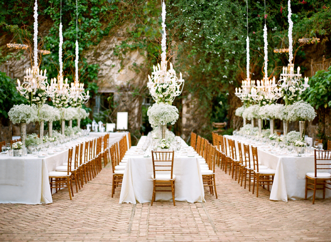 Spring summer outdoor wedding inspiration soundsurge for Images of outdoor weddings