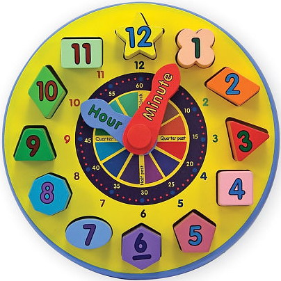 clock-toddler-educational-toys Learning Early Is Always Best, So Pick Up An Educational Toy For Your Kid