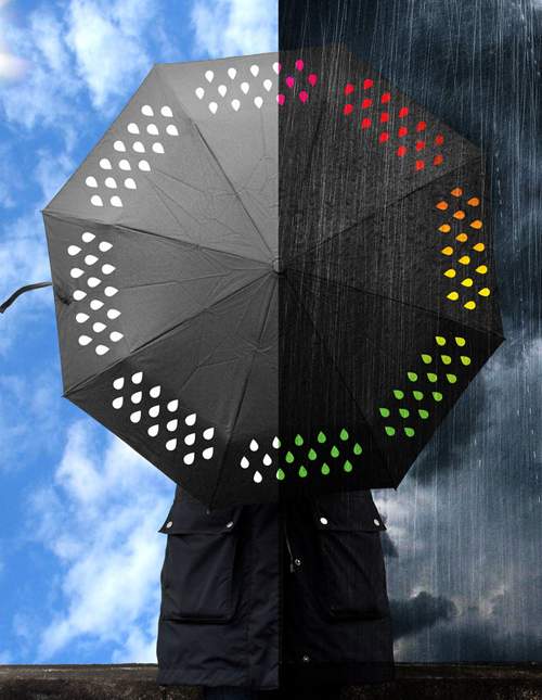 colorchanging 18 Insanely Unique Umbrellas