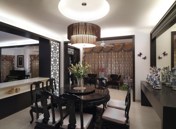 contemporary-dining-room-chandeliers 45 Most Stylish and Contemporary Dining rooms