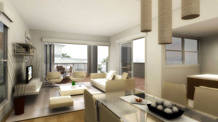 cozy-large-living-room-interior-design +20 Modern Ideas For LivingRooms Designs