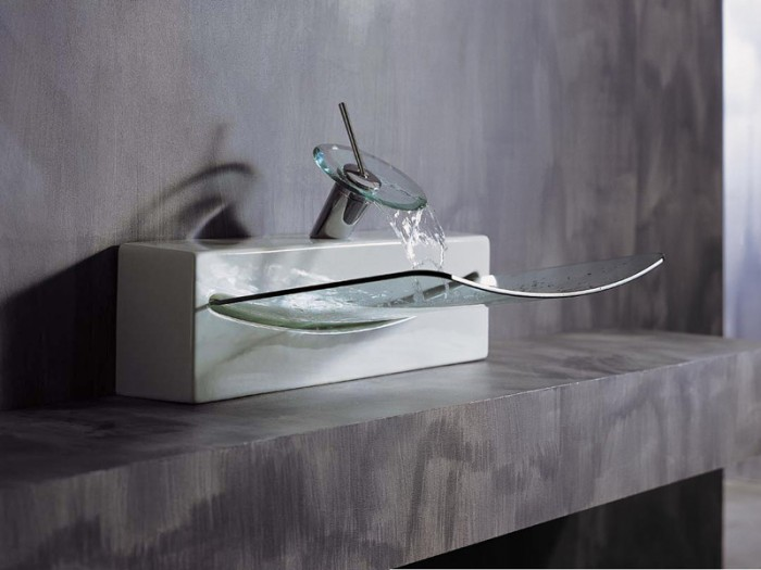 crystal-glass-washbasin-by-artceram-1 40 Catchy and Dazzling Bathroom Sinks