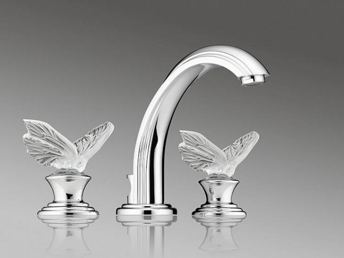 crystal 40 Breathtaking and Unique Bathroom Faucets