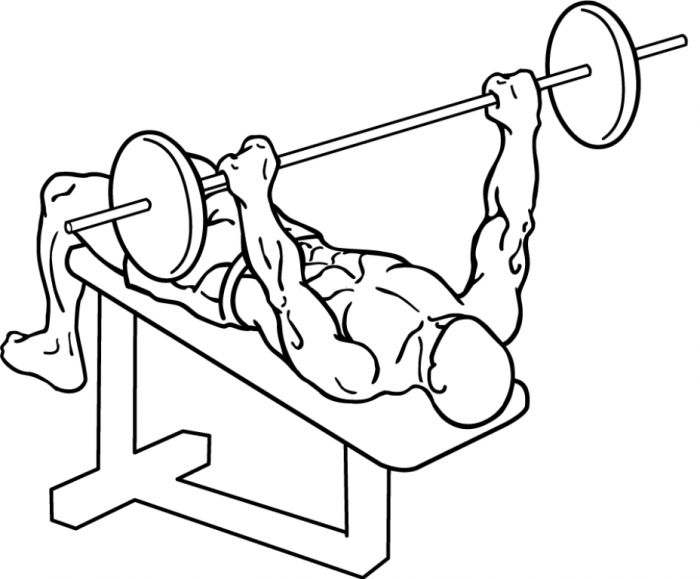 decline-bench-press-1 10 MMA Workouts to Achieve Fitness