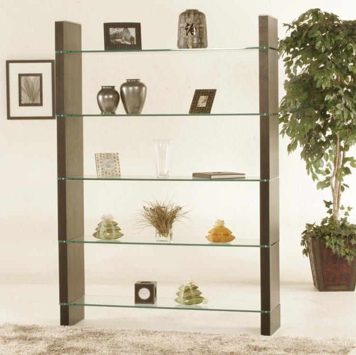 diamond-sofa-glass-bookcase-or-room-divider-diamond-sofa-W285DW 40 Most Amazing Room Dividers