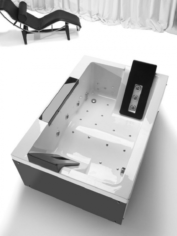 double-bathtubs-for-romantic-moments-9 25 Creative and Unique Bathtubs for an Elegant Bathroom