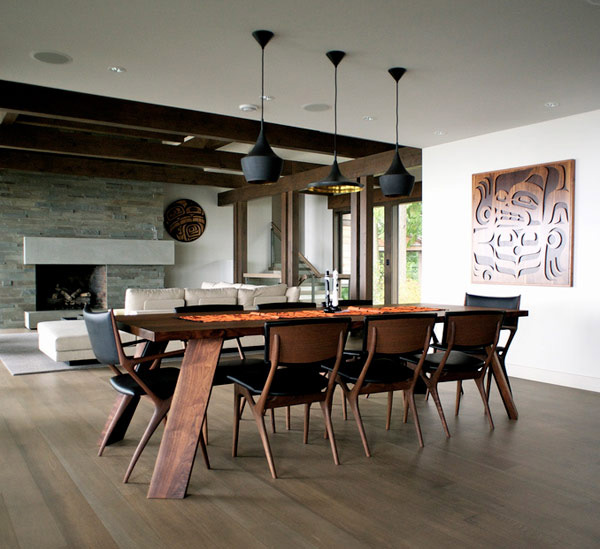 dramatic-dining-room-design-1 28 Elegant Designs For Your Dining Room