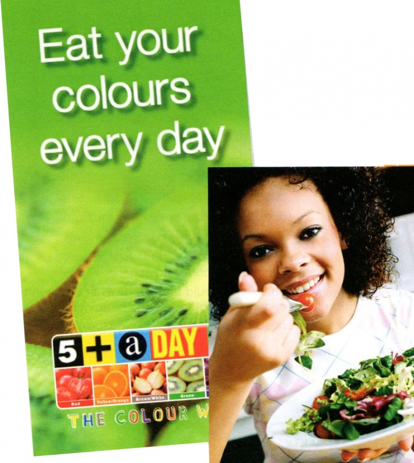 eat-your-colours-every-day-poster-green Eat More Colorful Foods For Optimal Health