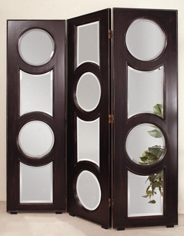 elliptic-3-panel-room-screen 11 Tips on Mixing Antique and Modern Décor Styles