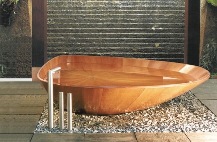 exclusive-modern-contemporary-wooden-bathtub-design-1 25 Creative and Unique Bathtubs for an Elegant Bathroom