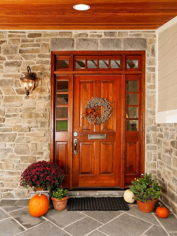 exterior-front-doors 23 Designs To Choose From When Deciding On A Front Door