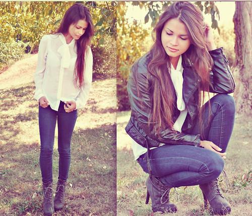 fashion-girl-hair-jacket-Favim.com-607255 Most Stylish +20 Teenage Girls Fashion Trends