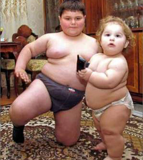 fat-kids1 Do You Have An Obese Kid?! Lose Weight By Playing Video Games