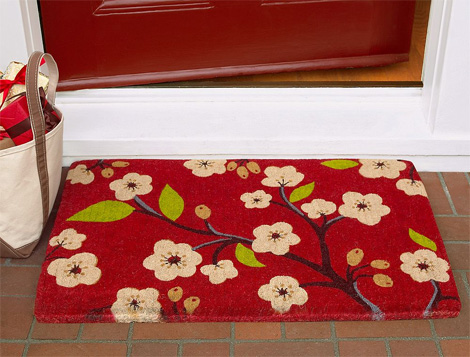 front-door-mats-wonderful 5 Tips On Choosing The Suitable Front Door Mat Or Rug