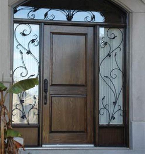 front-door-wooden 23 Designs To Choose From When Deciding On A Front Door