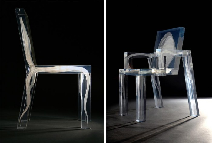futuristic-supernatural-chair-with-a-ghost-1 Do Ghosts Scare You? Take a Look at These Ghost Chairs