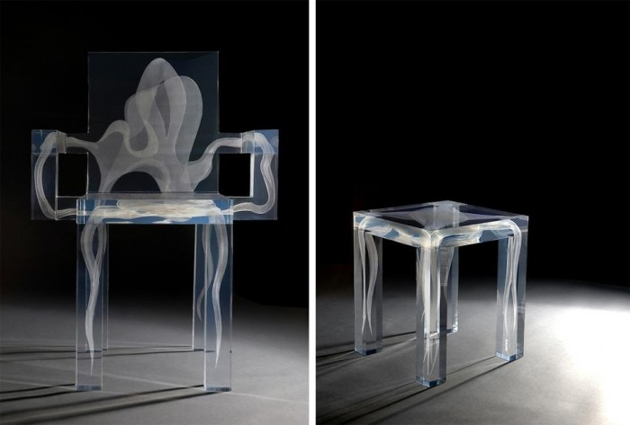 futuristic-supernatural-chair-with-a-ghost-3 Do Ghosts Scare You? Take a Look at These Ghost Chairs