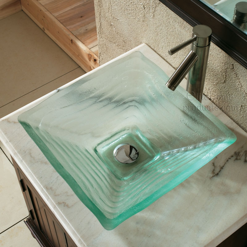 glass 40 Catchy and Dazzling Bathroom Sinks
