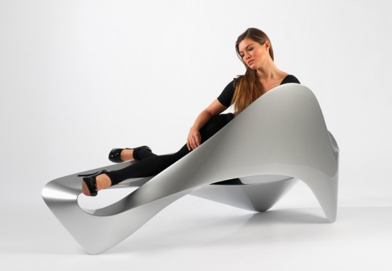 glossy-unique-chair4-550x380 30 Most Unusual Furniture Designs For Your Home