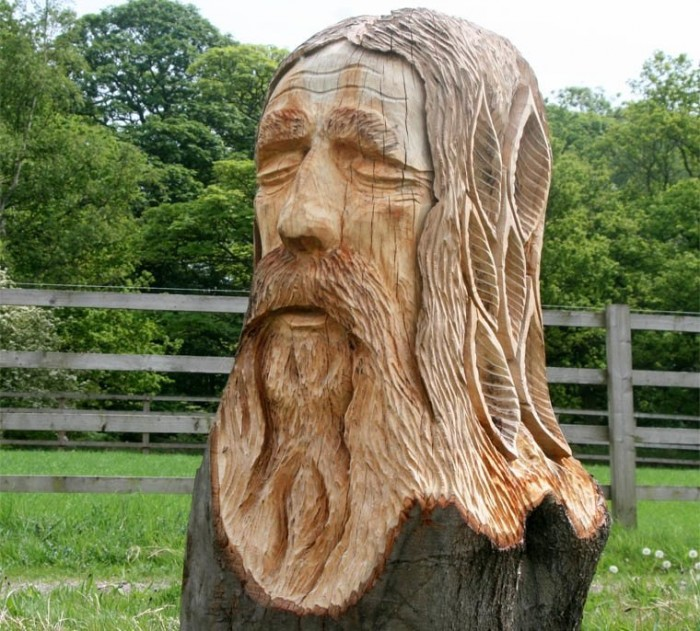 griffin_wood_sculptures3 24 Amazing Wooden Installations Art