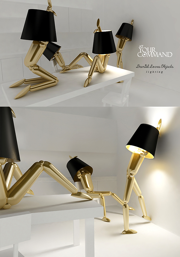human-body 30 Most Creative and Unusual lamp Designs