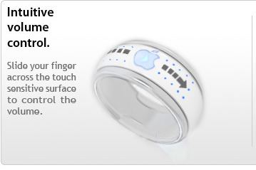 "i-ring-apple1 Control Your iPhone, iPod And Any Apple Device Remotely Through Using ""i Ring"""