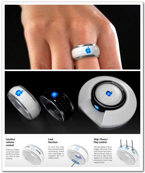 "iPhone-and-iPod-Ring Control Your iPhone, iPod And Any Apple Device Remotely Through Using ""i Ring"""