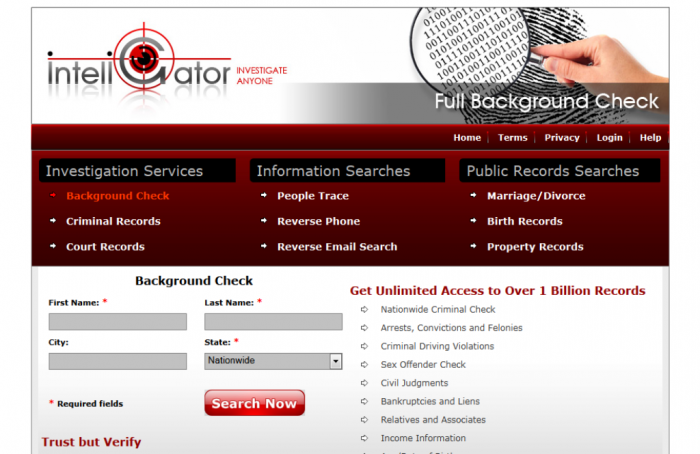 inteligator-review. Find Anyone's Critical Information Easily and Quickly Using InteliGator