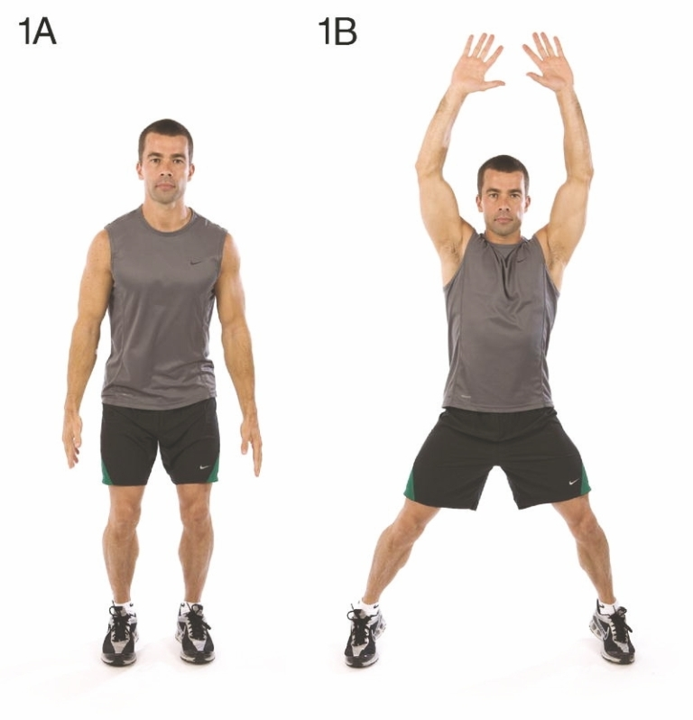 jumping-jack 10 MMA Workouts to Achieve Fitness