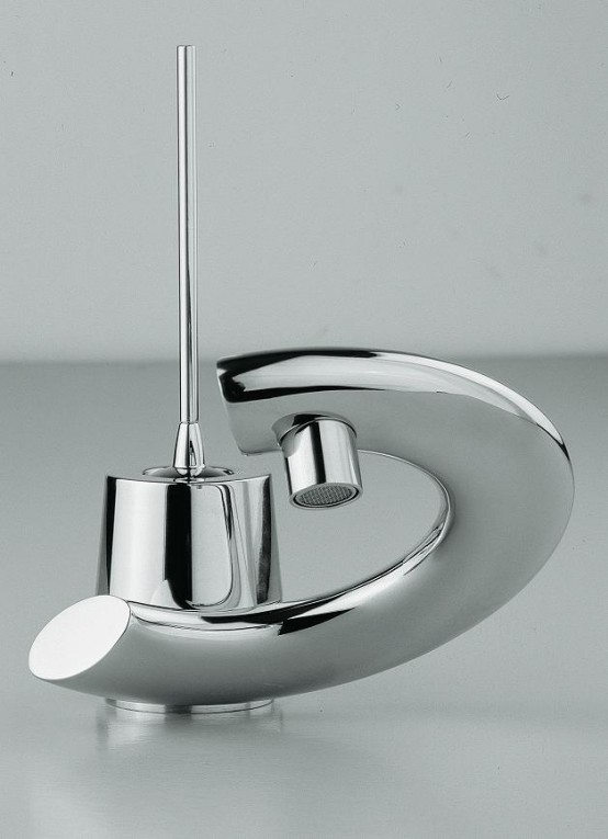 lacava-bathroom-faucets-with-curved-levers2 40 Breathtaking and Unique Bathroom Faucets