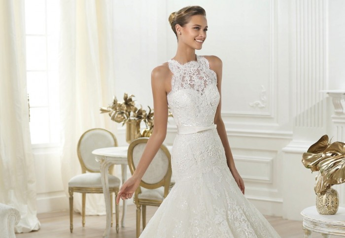 lenix-wedding-dress-by-pronovias The 19 Most Breathtaking Bridal Dresses Of 2014