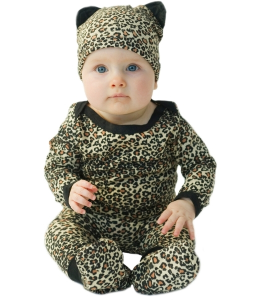 leopard-newborn-baby-gift-2 Top 41 Styles Of Clothing For Newborn Babies
