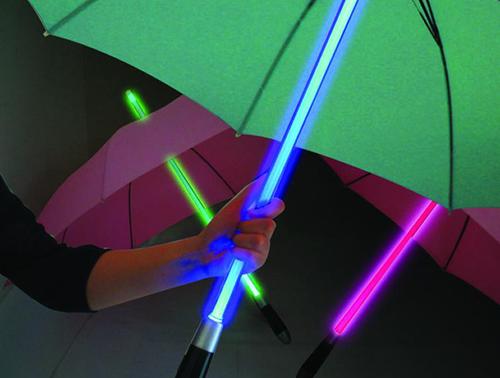 lightsaber 18 Insanely Unique Umbrellas