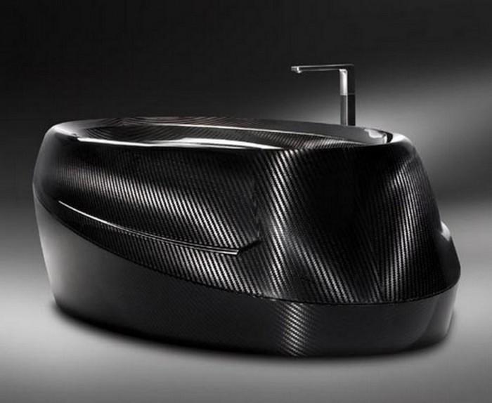 limited-edition-luxurious-carbon-fiber-bathtub-3 25 Creative and Unique Bathtubs for an Elegant Bathroom