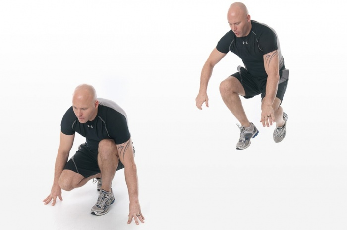 lunge-jump. How to Increase Your Vertical Jump by 12 Inches in Few days