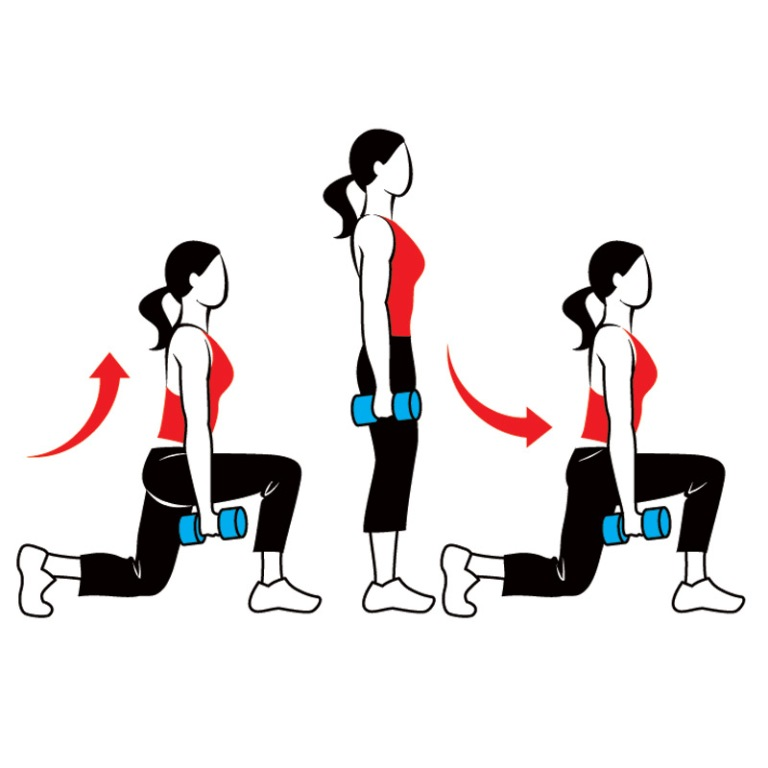 lunge What Are the Military Workouts?