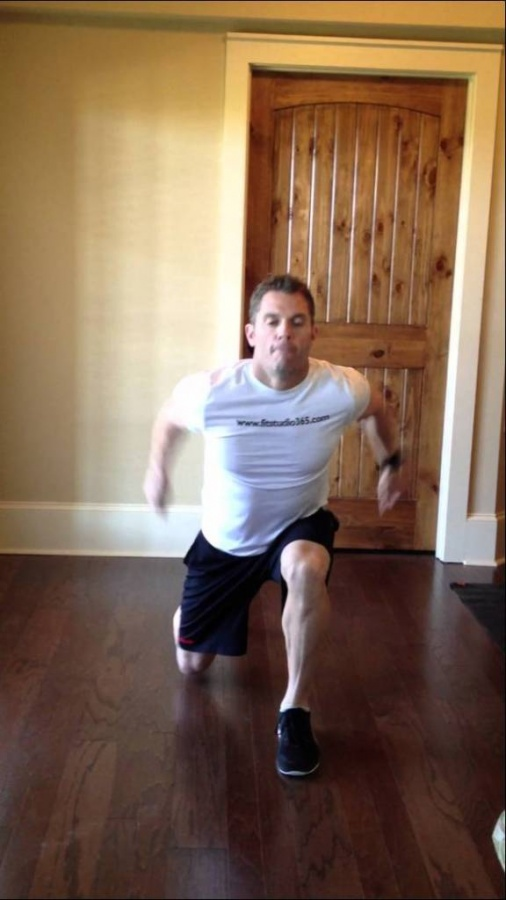 lunge2 How to Increase Your Vertical Jump by 12 Inches in Few days